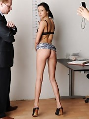 Secretary asked to strip to nothing at interview