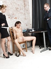 Undressed and DPed secretary still needs this job