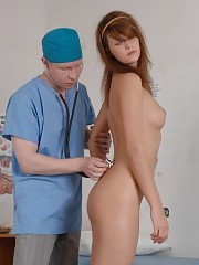 Mortified miss passing a naked medical exam