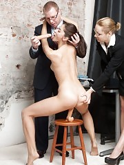 Double domination and penetration at the secretary interview