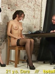 Office toy BJ and pussy dildo fucking