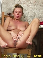 Nude secretary interviewed with spread pussy