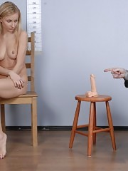Job tryout ends up with dildo DP