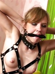 Female fitness trainee-trainer bdsm games