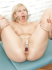 From nude shooting to gagged vaginal insertions