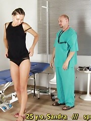 Gyno doctor makes her do nasty things