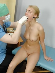 Medical male passion for deep hole examination