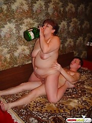Granny is drunk and hot, she needs hard fuck