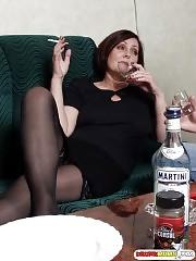 Drunk mom seduced by 18y.o. guy
