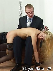 Milf teacher chained for a cruel thrashing