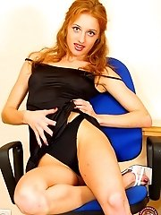 Young Harlot Gets Hot In Wet Tight In The Office