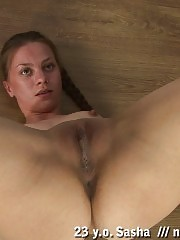 Nude yoga girl in the sexiest asanas