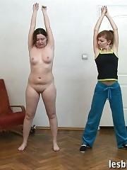 How to turn a fatty into a lesbian gymnast