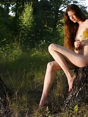 Petite teen loves to get naked and free on the lap of nature where she can embrace her emotions and feminine qualities.